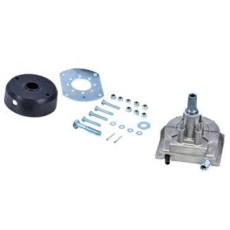 Multiflex Multiflex Lite 55 Aluminum Steering Helm w/ Black Bezel Kit