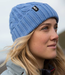 Gill Cable Knit Beanie Light Blue 2018