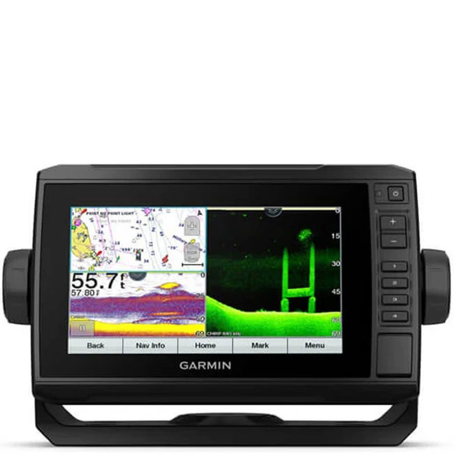 "Garmin Garmin Echomap UHD 75sv 7"" CHIRP SideVU, ClearVU Fishfinder Without Transducer"