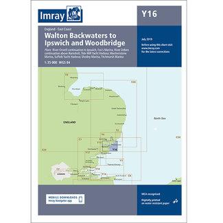 Imray Imray Y16 Walton Backwaters to Ipswich & Woodbridge Charts