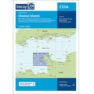 Imray Imray C33A Channel Islands Charts