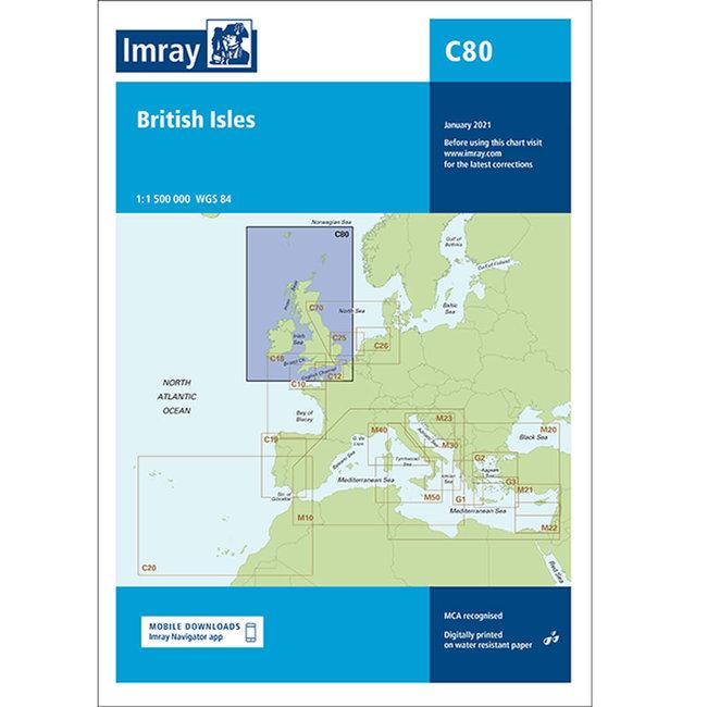 Imray C80 British Isles Charts