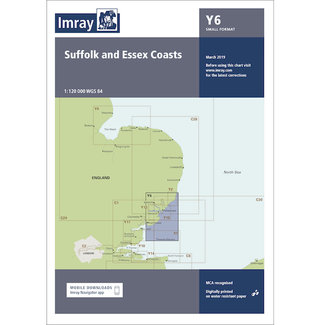 Imray Imray Y6 Suffolk and Essex Coasts Charts