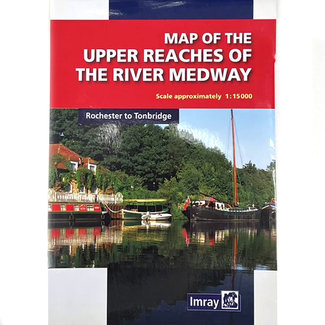 Imray Map of The River Medway -  Tonbridge to Rochester