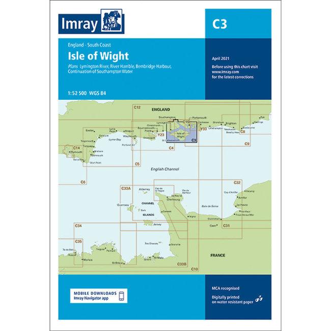 Imray C3 Isle Of Wight Charts