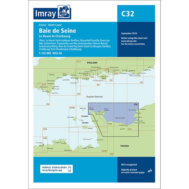 Imray C32 Baie De Seine - Le Havre to Cherbourg