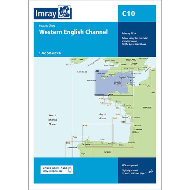 Imray C10 Western English Channel Passage Chart