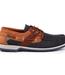 Dubarry Clipper Mens Deck Shoes Navy/Brown + FREE £50 Voucher