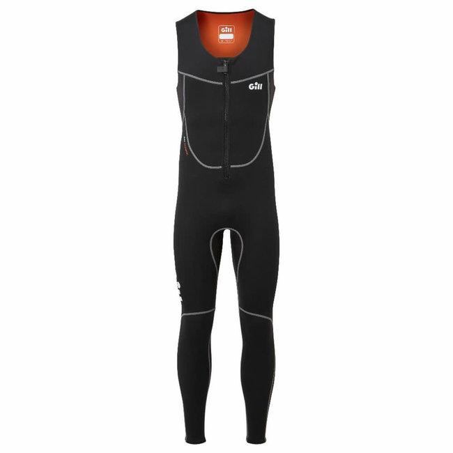 Gill Dynamic 3mm Mens Long John Wetsuit Black 2021