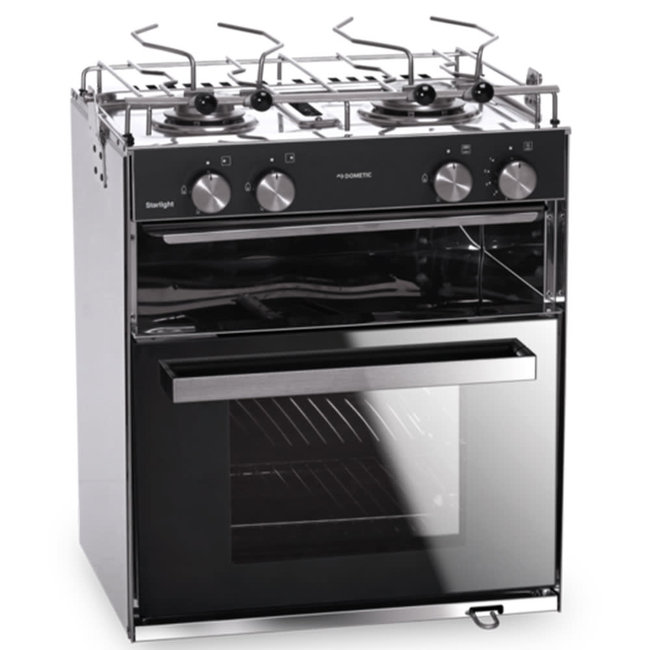 Dometic Starlight 28L Oven/Cooker 2 Burner Hob and Grill Cabinet