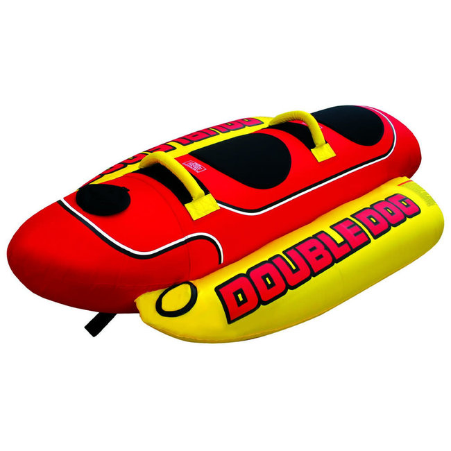 Airhead Double Dog 2 Person Inflatable Water Toy