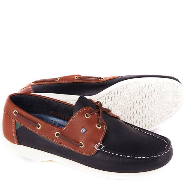 Dubarry Admirals Mens Deck Shoes Navy/Brown