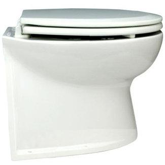 """Jabsco Jabsco Deluxe Flush Vertical Back Electric Toilet 14"""" 24V"""