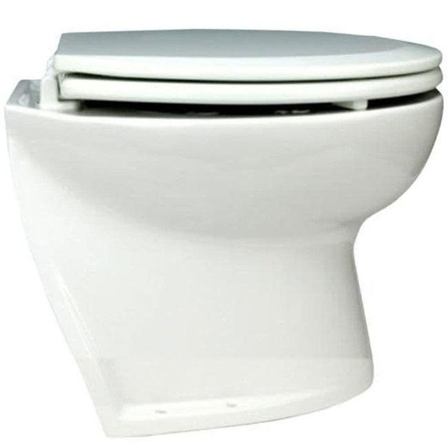"Jabsco Deluxe Flush Angled Back Electric Toilet 14"""