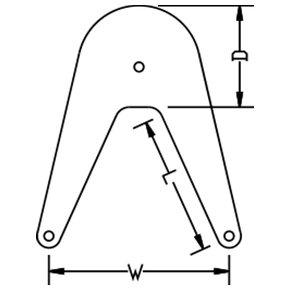 Anchor Marine Bow Fender Specs