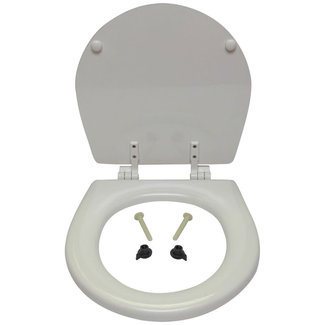 Jabsco Jabsco Wooden Toilet Seat Only with Hinges