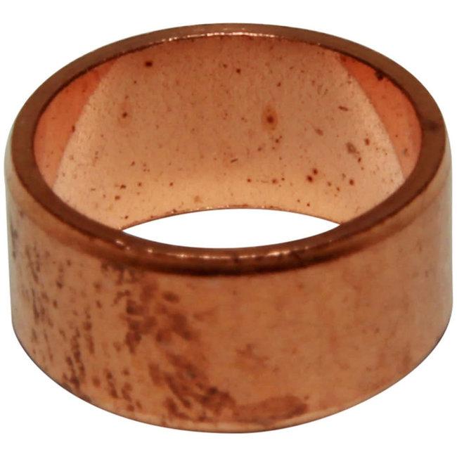 """AG Copper Ring Olives (1/2"""" Outside Diameter) Pack of 10"""