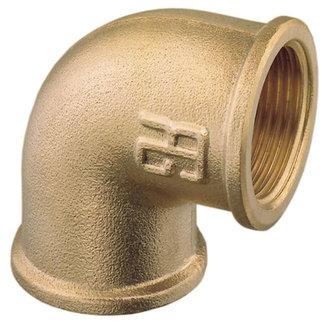 "Pirates Cave Value Brass Elbow FF 1 1/4"" BSP"