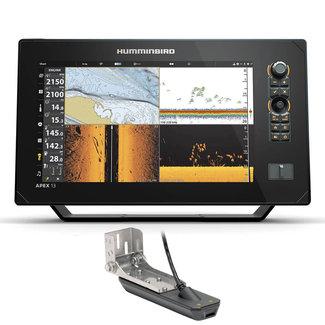 "Humminbird Humminbird APEX 13.3"" GPS Chartplotter with Transducer"