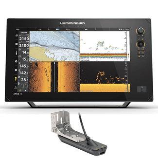 "Humminbird Humminbird APEX 18.5"" GPS Chartplotter with Transducer"