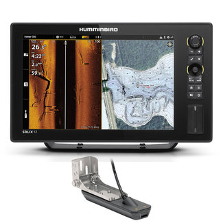 "Humminbird Humminbird SOLIX G3 12.1"" MSI+ GPS Fishfinder with Transducer"