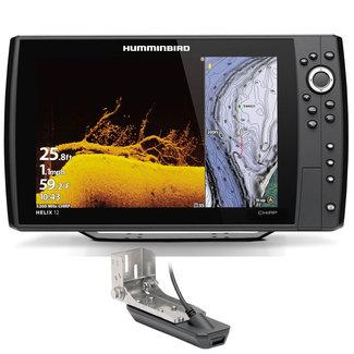 "Humminbird Humminbird HELIX G4N 12"" CHIRP GPS Fishfinder with Transducer"