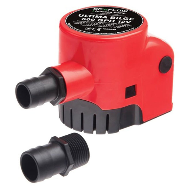 Johnson 12V Ultima Bilge Pump with Integrated Switch