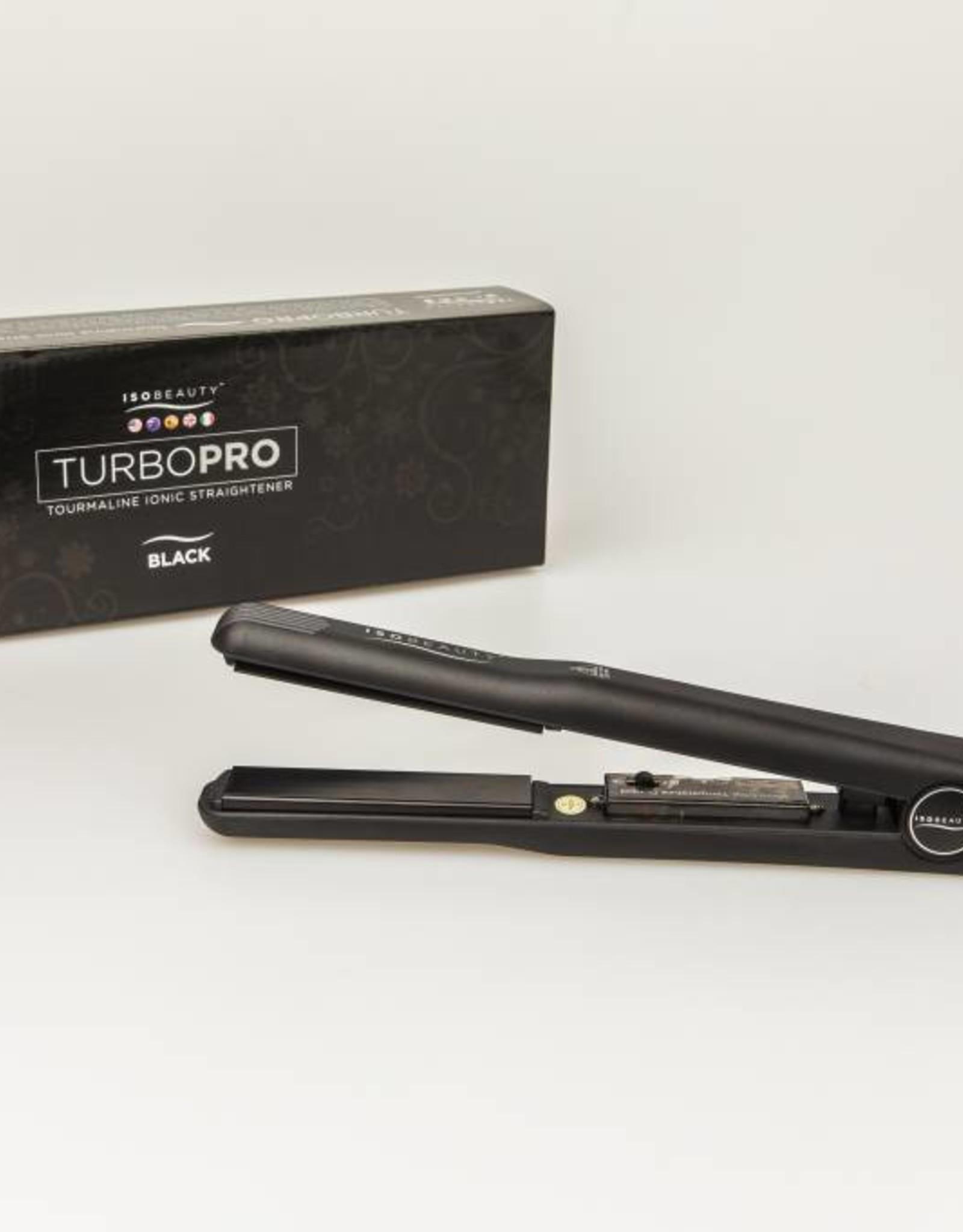 Glätteisen Turbo Pro Schwarz