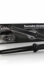 Lockenstab Twister Schwarz 25 - 18 mm