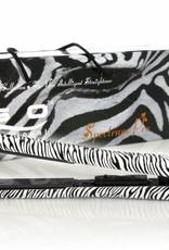 Glätteisen Animal Print Zebra Weiß