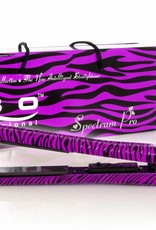 Glätteisen Animal Print Zebra Violett