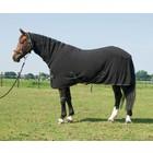 Harry's Horse Fleece zweetdeken met hals zwart