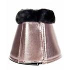 HKM Springschoenen metallic bont Roze Extra Large