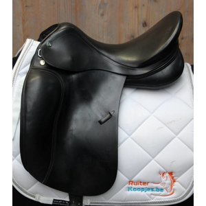 Prestige 2dehands dressuurzadel prestige dressage top 17.5 Medium boom