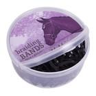 QHP 5131 QHP rekkeltjes Extra breed Zwart 50 gram Box