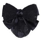QHP Haarstrik lace Zwart