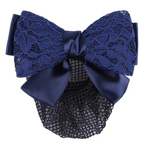 QHP Haarstrik lace Navy