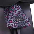 QHP QHP stijgbeugelheosjes pink leopard