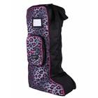 QHP QHP Laarzentas pink leopard