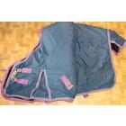 2dehands outdoordeken BR 300gram 165cm (ondermaat) Blauw/paars zonder bilkoorden