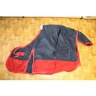 2dehands regendeken0gram+fleece 165cm (ondermaat) Navy/rood
