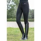 HKM 10540 Rijbroek Kate Full Grip Zwart Dames