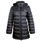 HKM 10071 Lange Winterjas Victoria Zwart