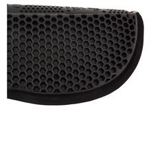 153931 BR soft gel pad hexagonal Zwart
