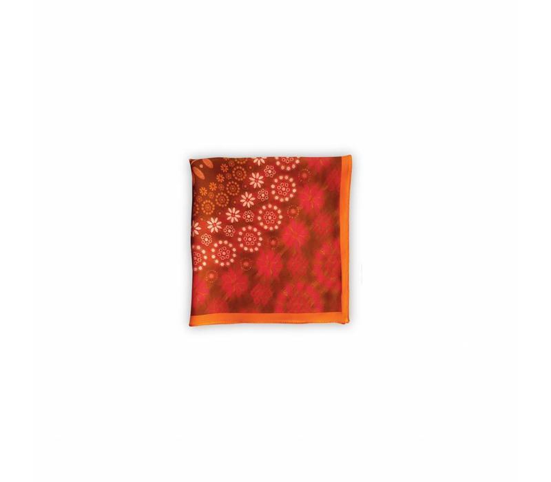 Dots Pochet Orange 40x40