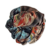 Painted Flowers Shawl 128X128