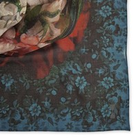 Rijksmuseum Painted Flowers Shawl 128X128