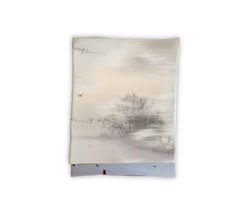 Misty Morning Sjaal 60x160