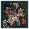LITTLE TROPHY Rijksmuseum Painted Flowers Shawl 128X128