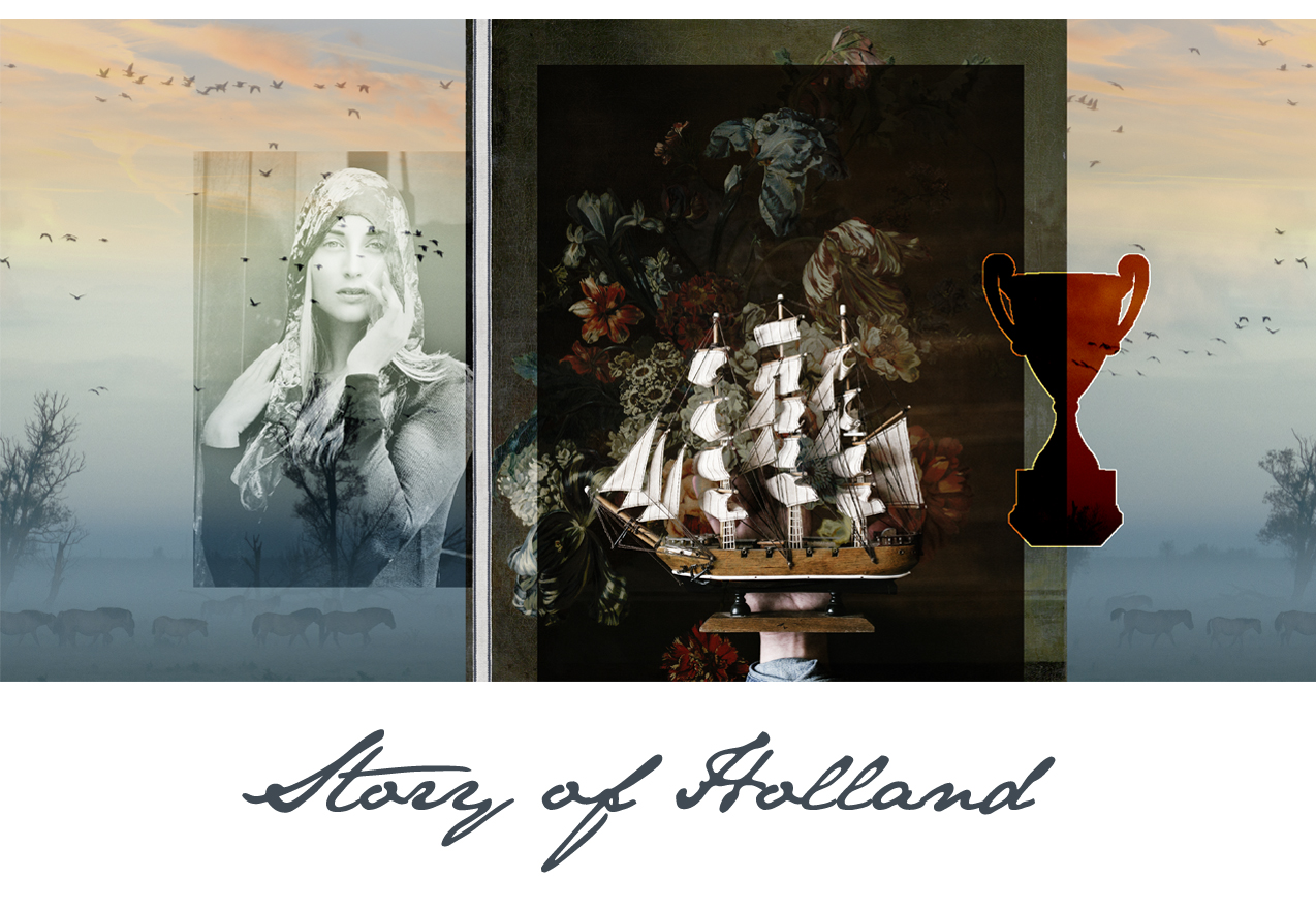 Little Trophy moodboard - Story of Holland